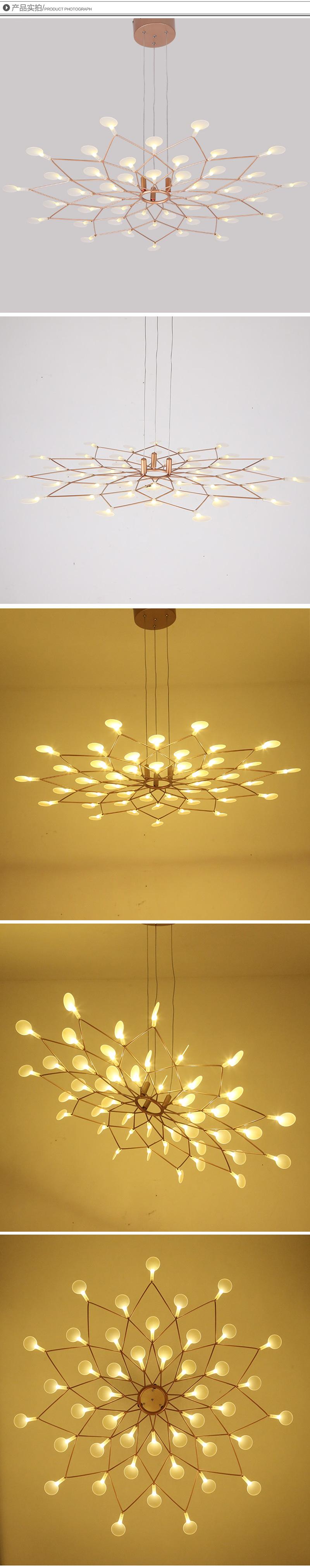đèn heracleum ốp trần 05
