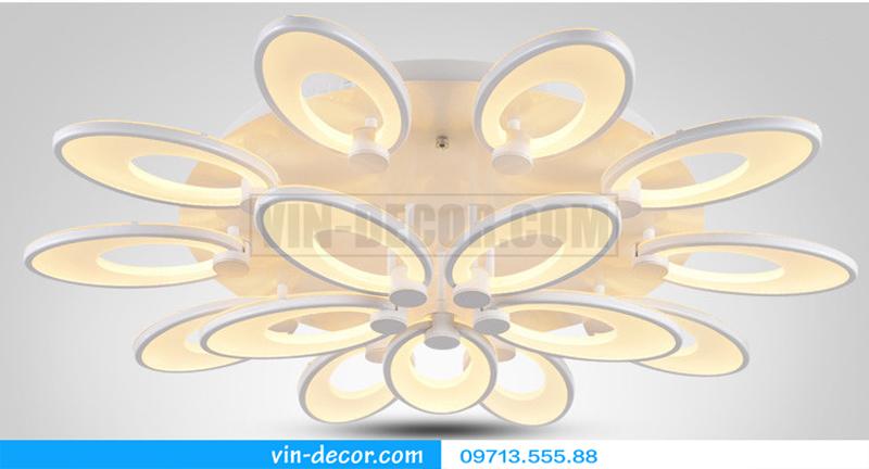 đèn led cánh hoa độc đáo 03