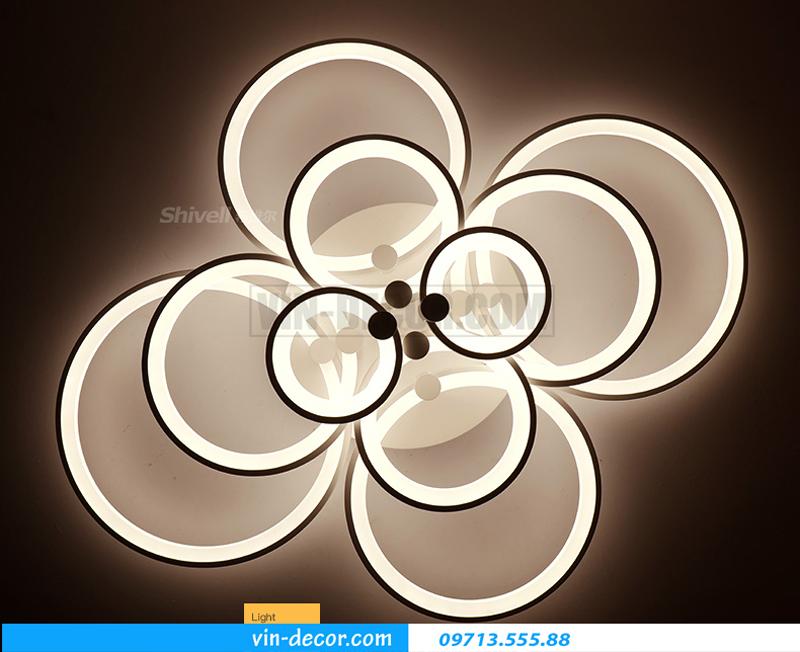 đèn led ốp trần hình tròn trẻ chung 03