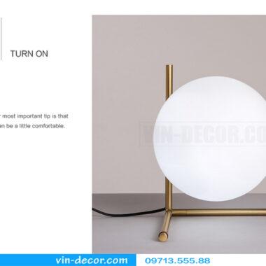 đèn ngủ bóng tròn hiện đại 07