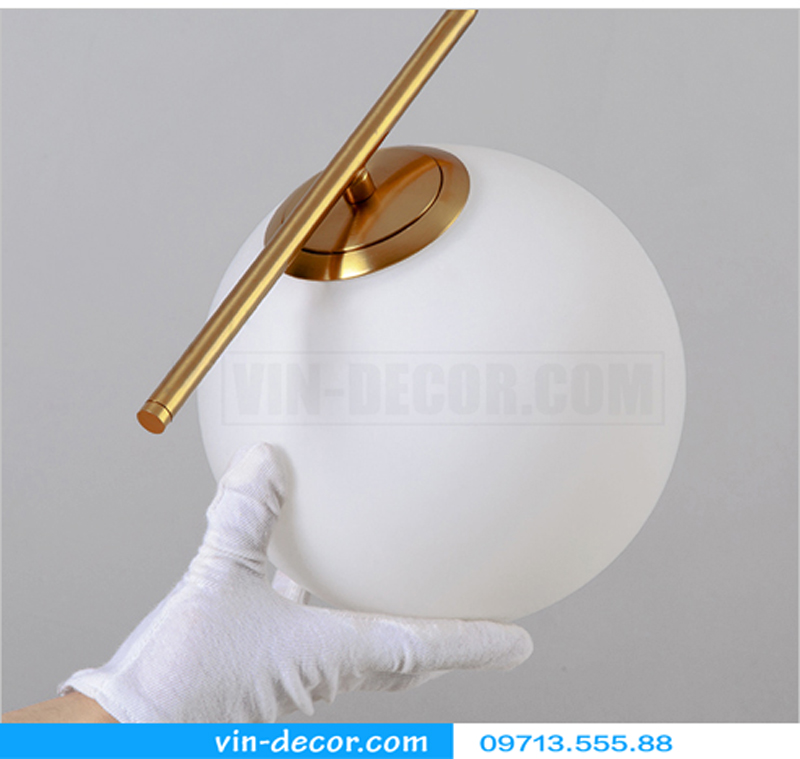 đèn ngủ bóng tròn hiện đại 12