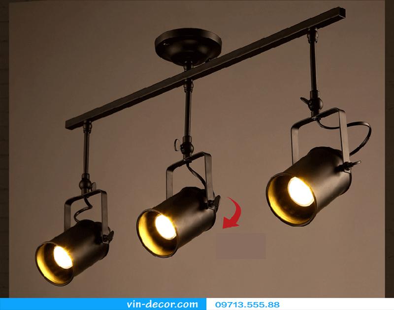 đèn rọi khung sắt 03