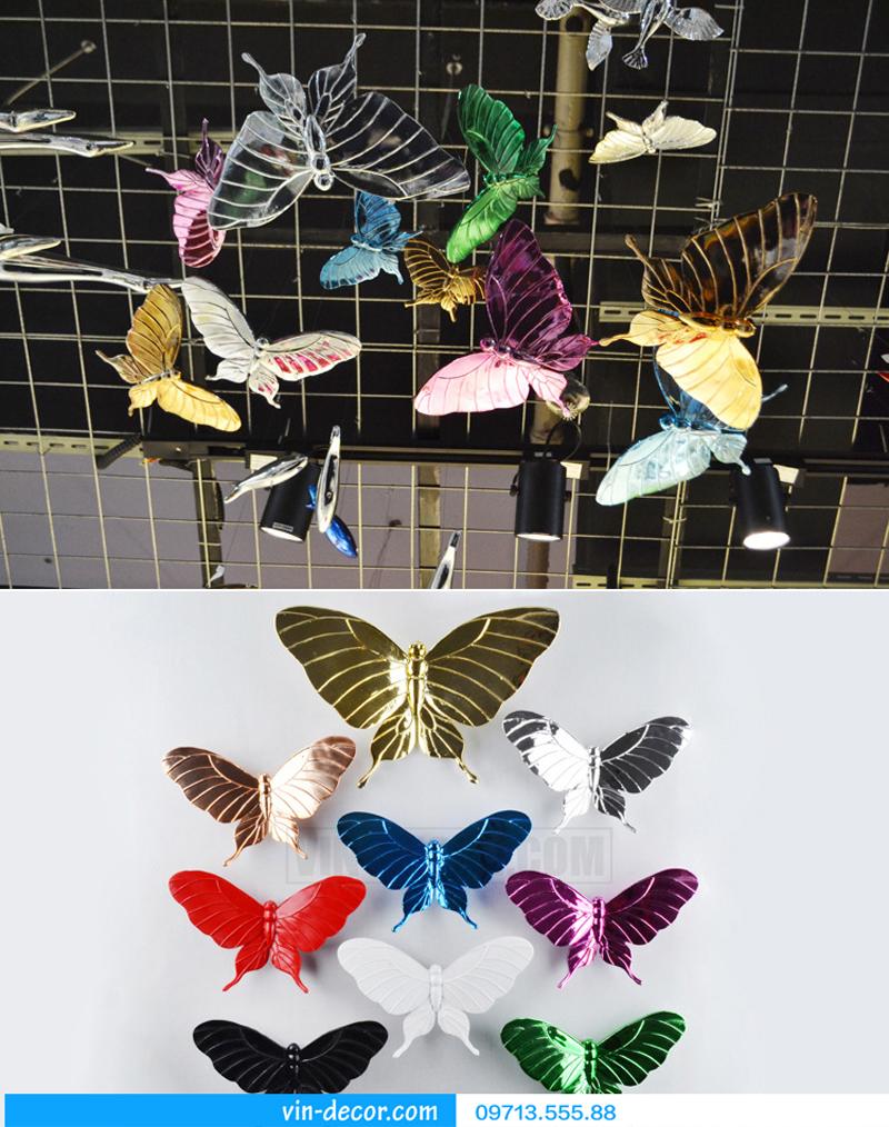 bướm decor gắn tường độc đáo 03