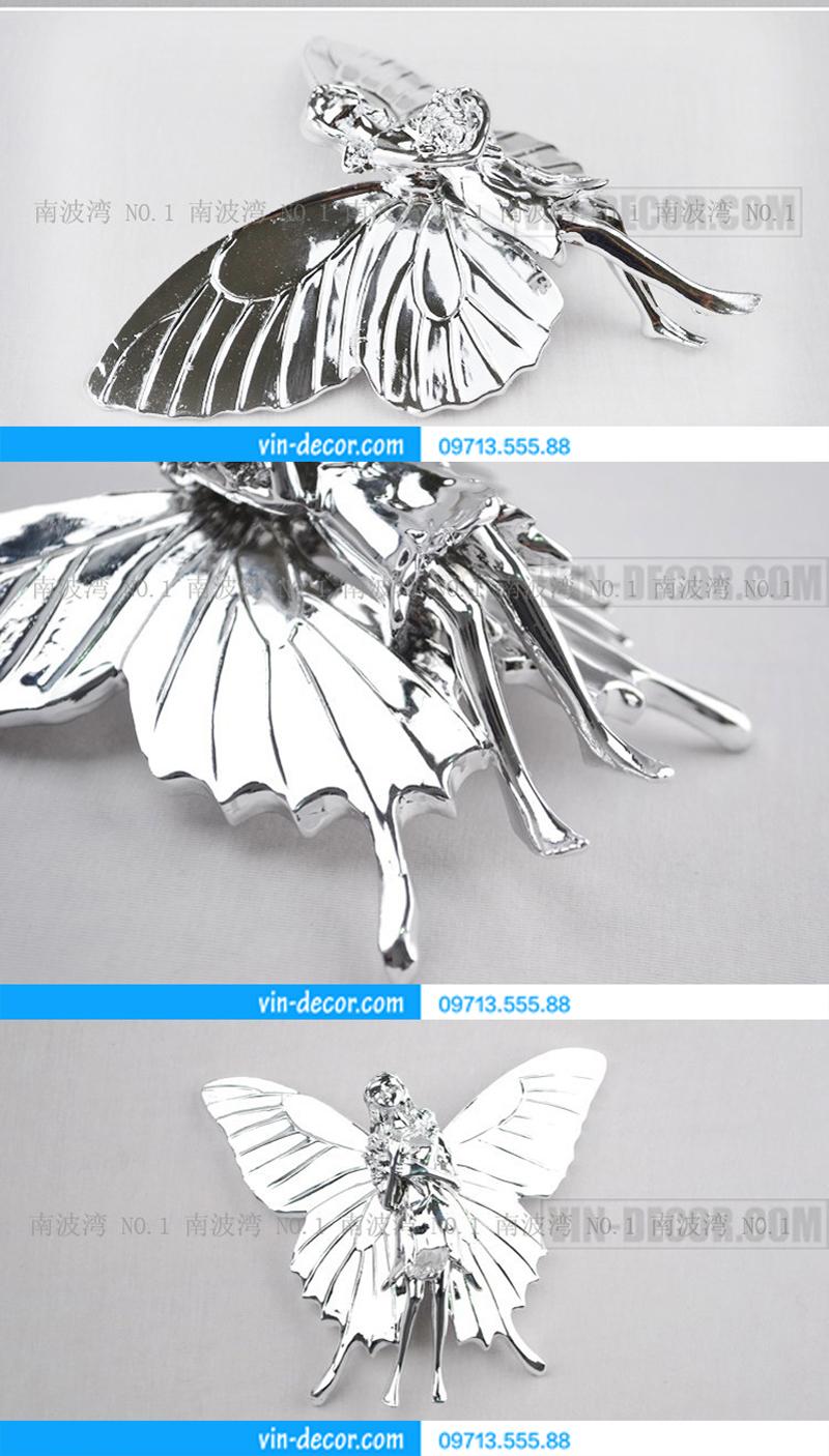 bướm thiên thần trang trí nội thất 01