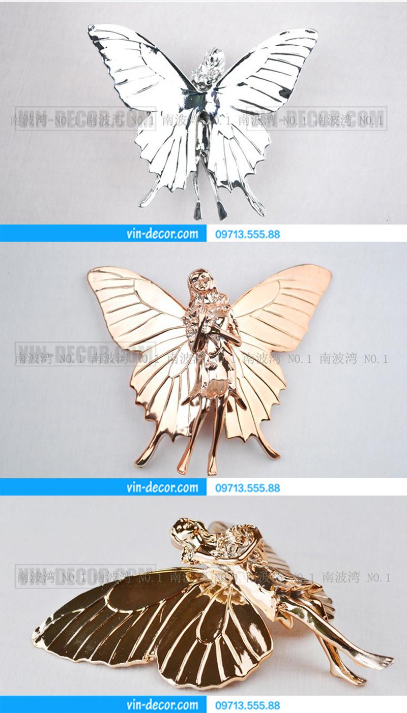 bướm thiên thần trang trí nội thất 02