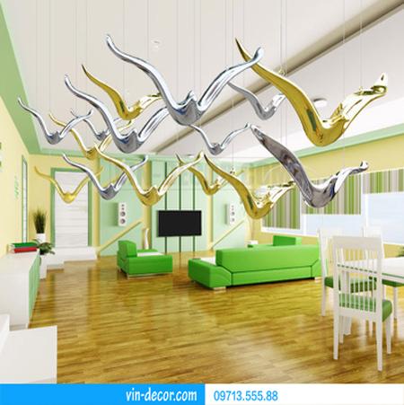 chim thả trần trang trí nội thất 01