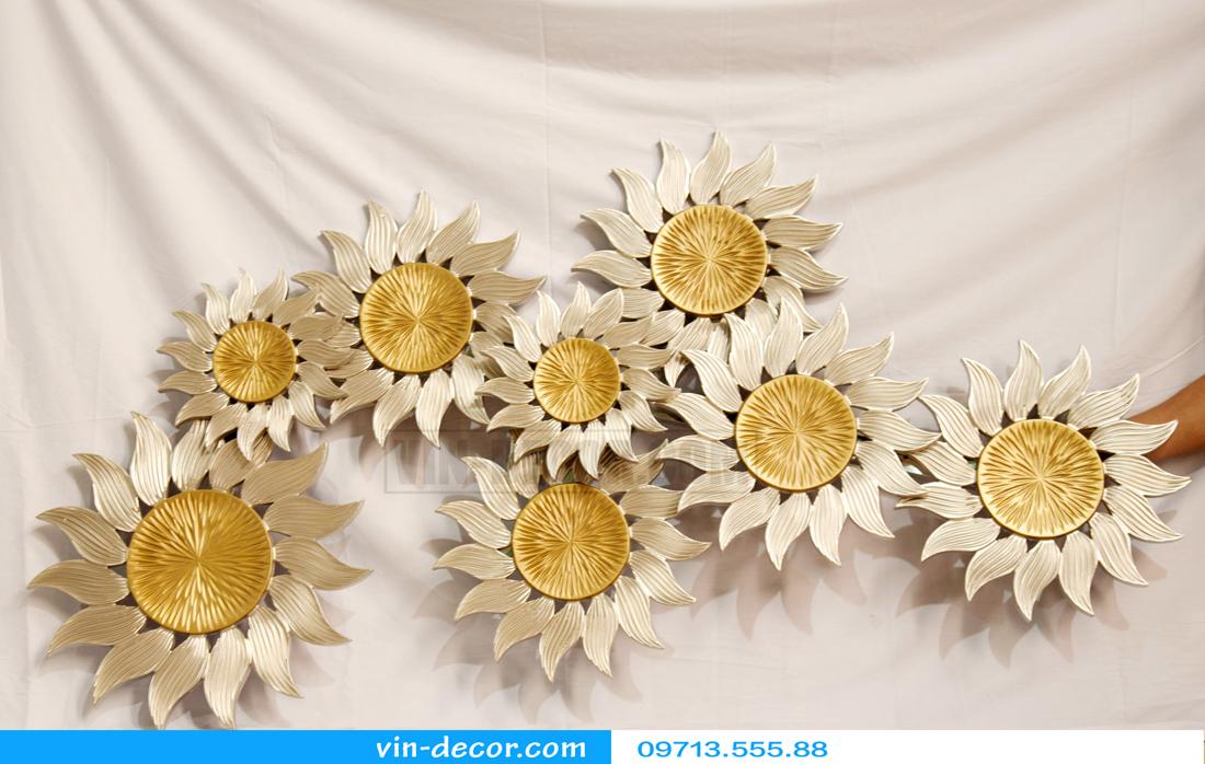 tranh decor hoa mặt trời sáng tạo 02