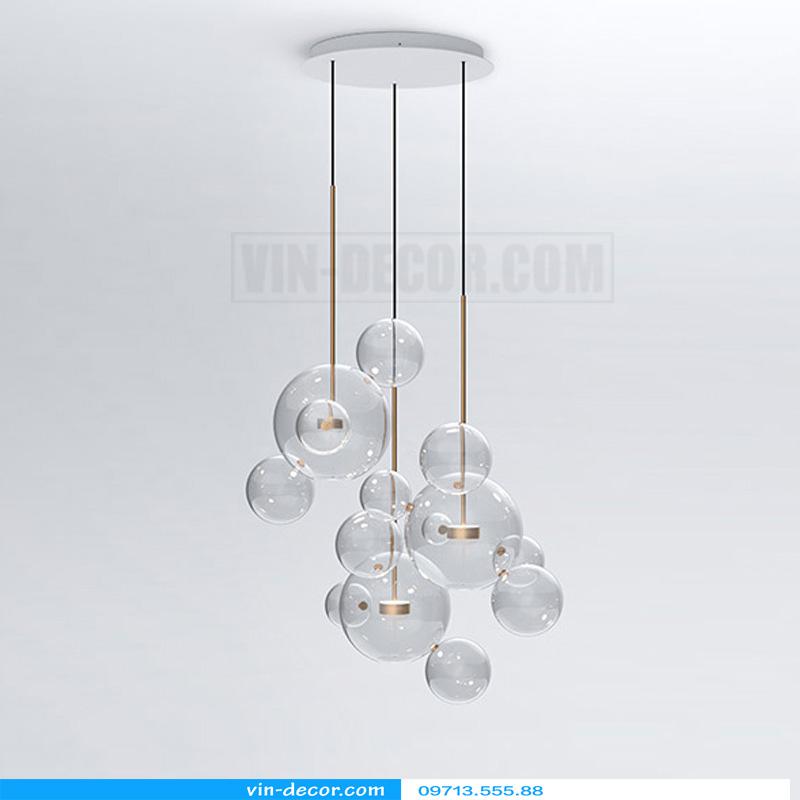 đèn chùm bong bóng xà phòng 02