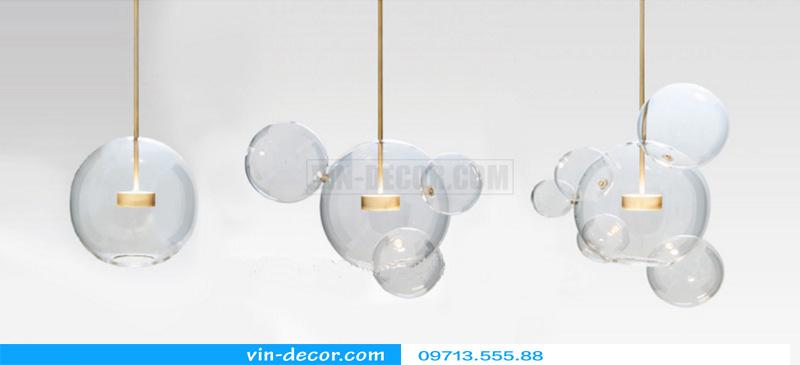 đèn chùm bong bóng xà phòng 04
