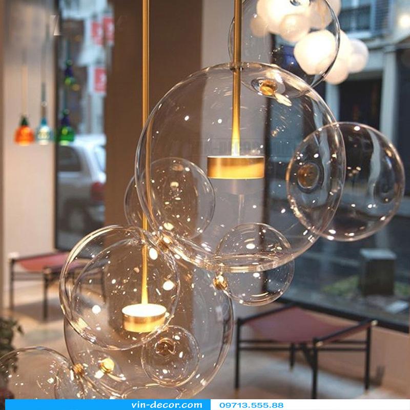 đèn chùm bong bóng xà phòng 06