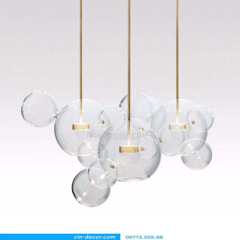 đèn chùm bong bóng xà phòng 07