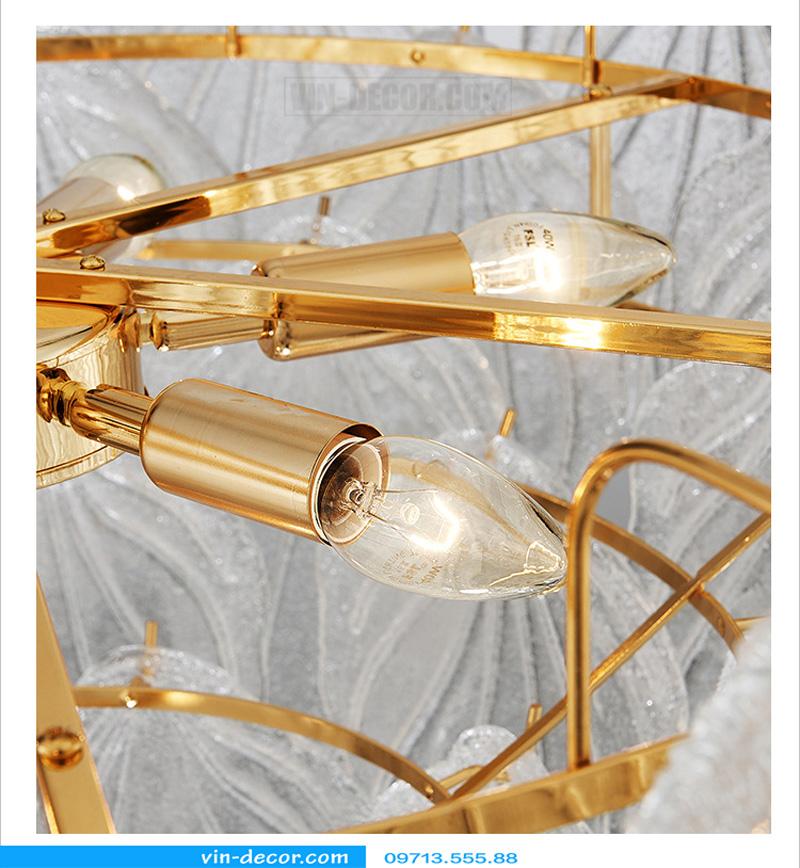 đèn chùm nghệ thuật độc đáo md 874 8