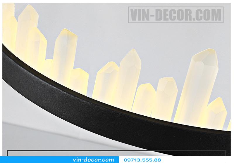đèn chùm nghệ thuật md 8026 10
