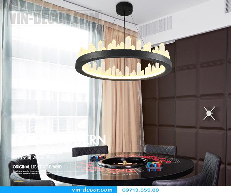 đèn chùm nghệ thuật md 8026 6