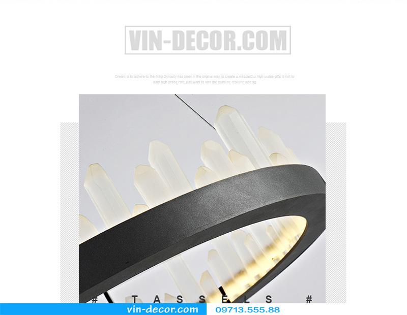 đèn chùm nghệ thuật md 8026 8
