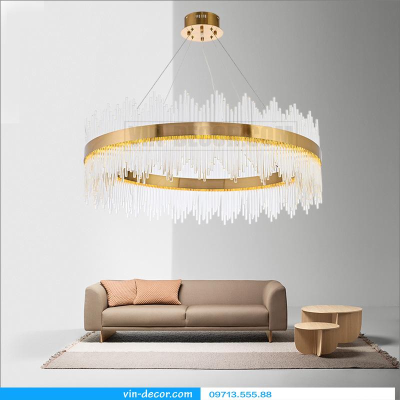 đèn chùm nghệ thuật md 8052 3