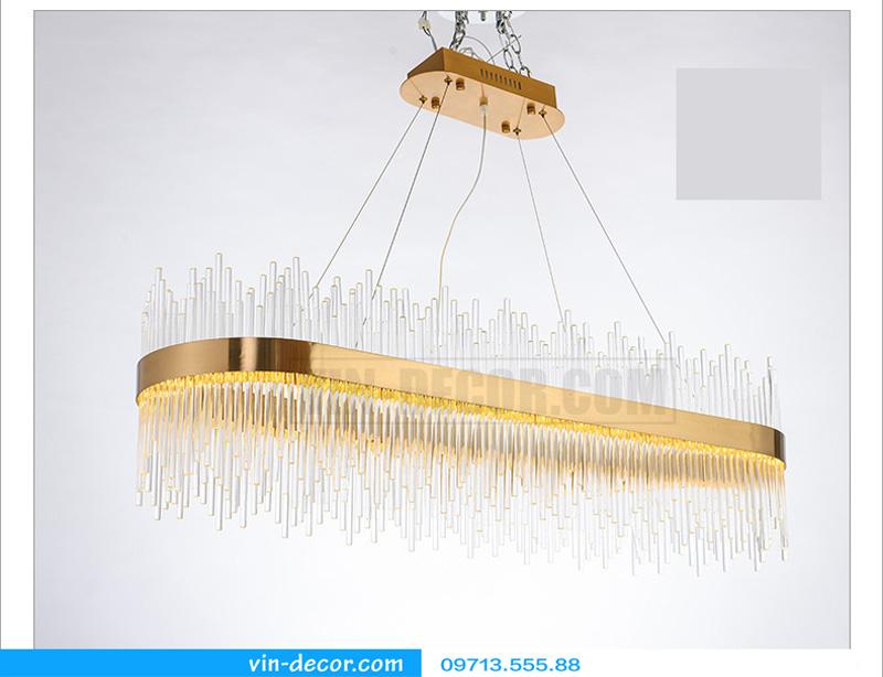 đèn chùm nghệ thuật md 8052 4