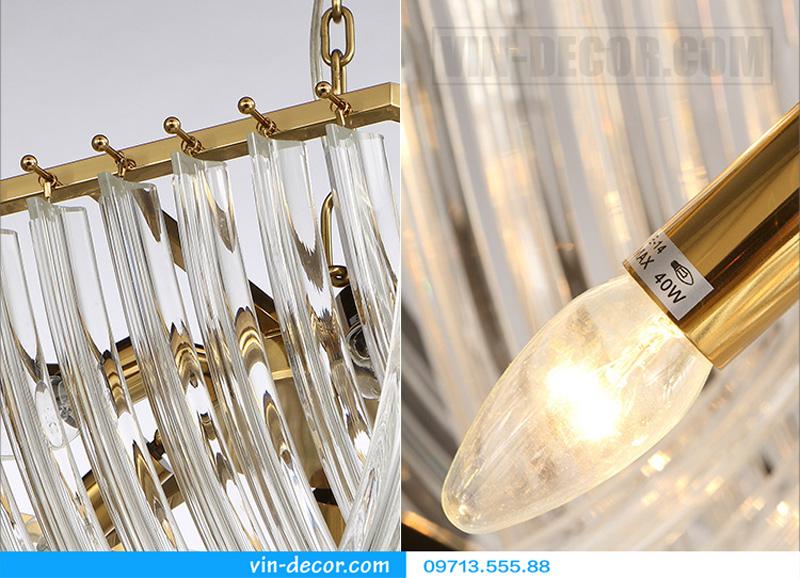 đèn chùm nghệ thuật md 8057 5