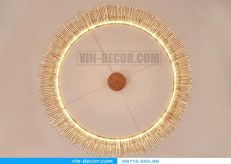 đèn chùm nghệ thuật md 857 4