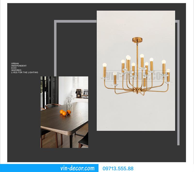 đèn chùm nghệ thuật md 922 4
