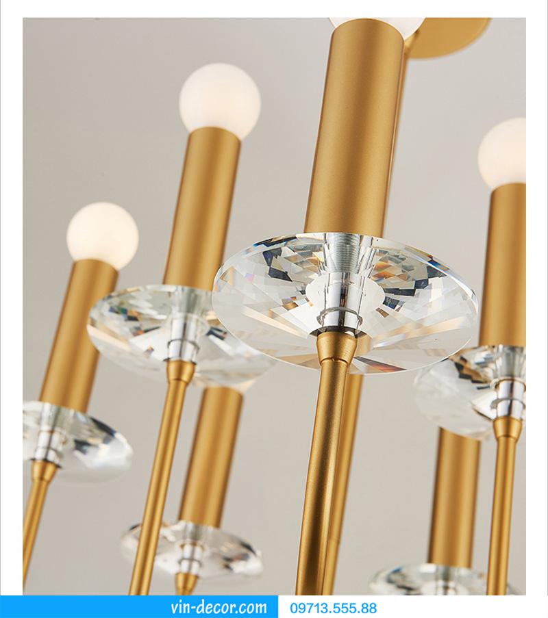 đèn chùm nghệ thuật md 922 9