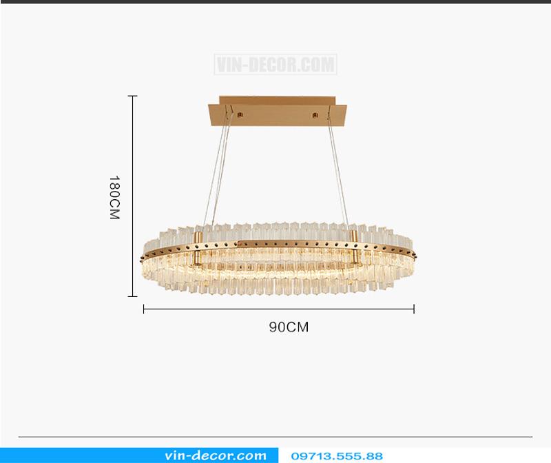 đèn chùm nghệ thuật md 962 4