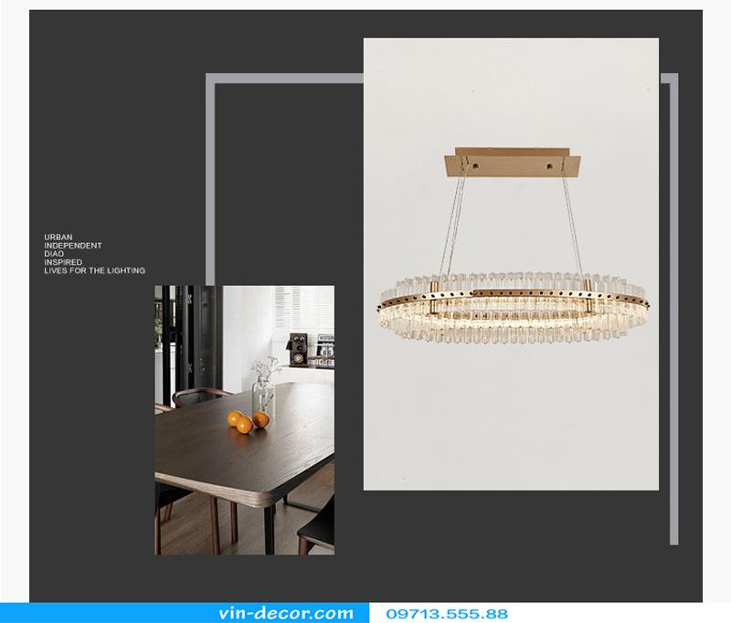 đèn chùm nghệ thuật md 962 9