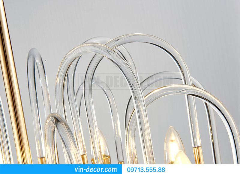 đèn chùm nghệ thuật sang trọng md 860 9