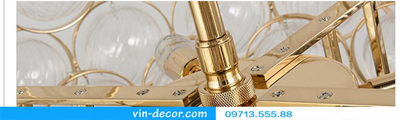 đèn chùm pha lê bong bóng md 001 10