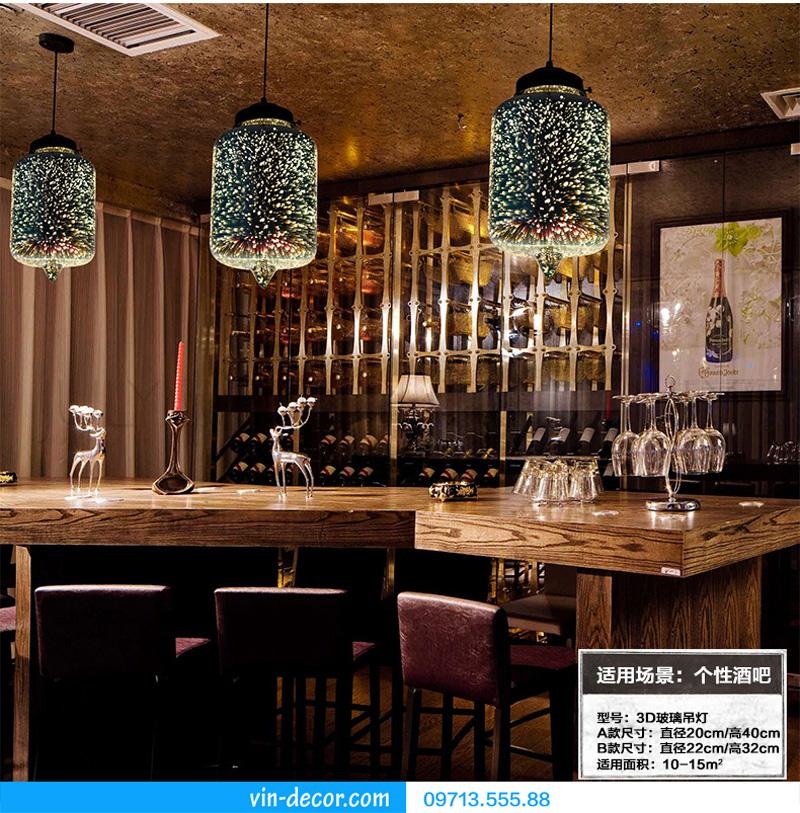 đèn thả bàn ăn 3d md 002 01