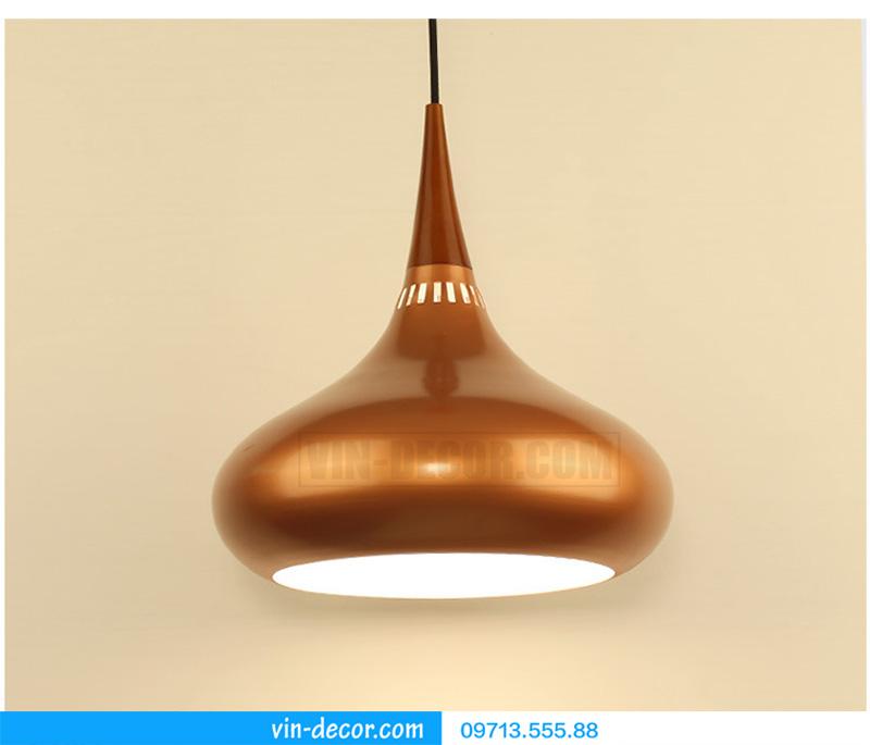 đèn thả bàn ăn hình giọt nước md 003 4