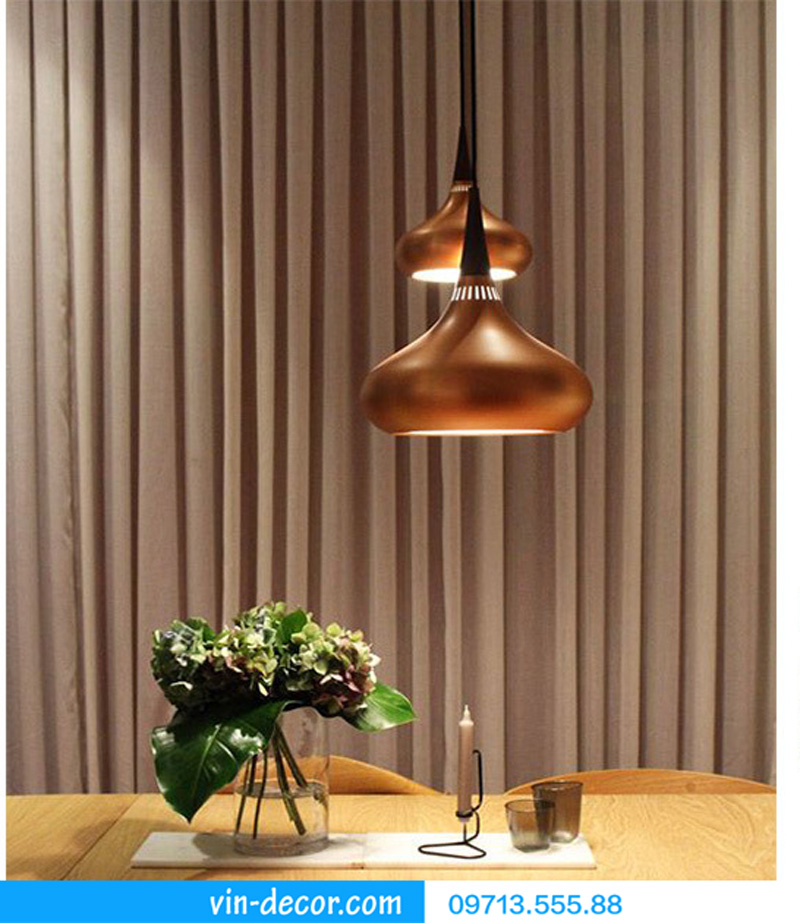 đèn thả bàn ăn hình giọt nước md 003 9
