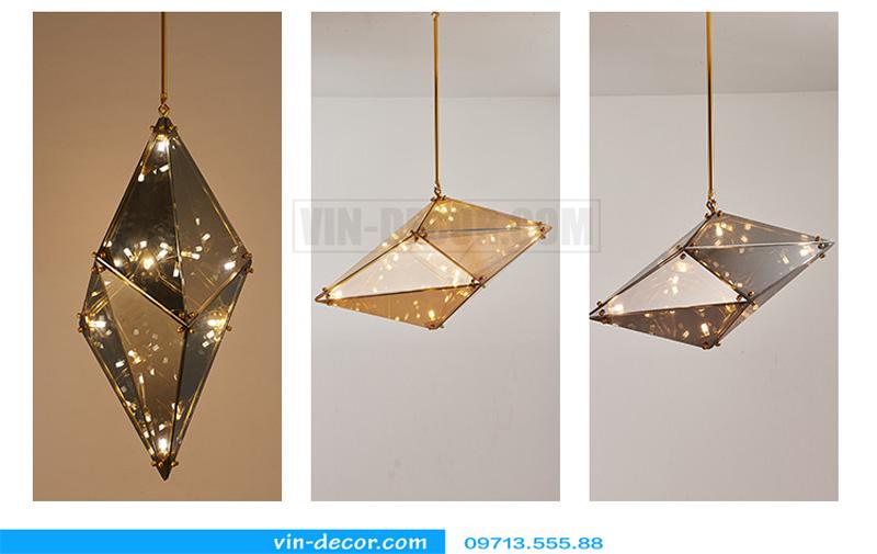 đèn thả bàn ăn kim cương md 1070 11