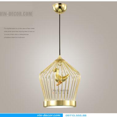 đèn thả bàn ăn lồng chim độc đáo md 009 7