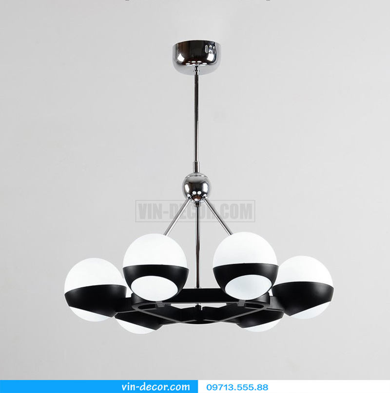 đèn thả bóng tròn hiện đại md 810 01