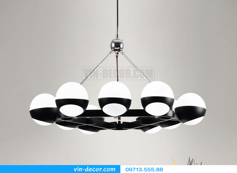 đèn thả bóng tròn hiện đại md 810 02