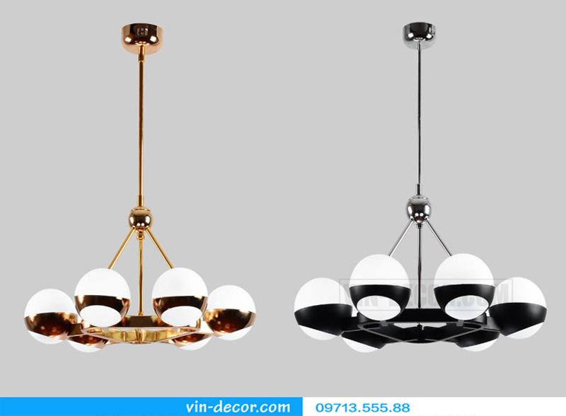 đèn thả bóng tròn hiện đại md 810 08