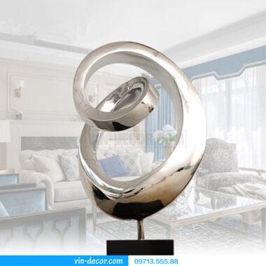 phù điêu trừu tượng hình tròn độc đáo 01