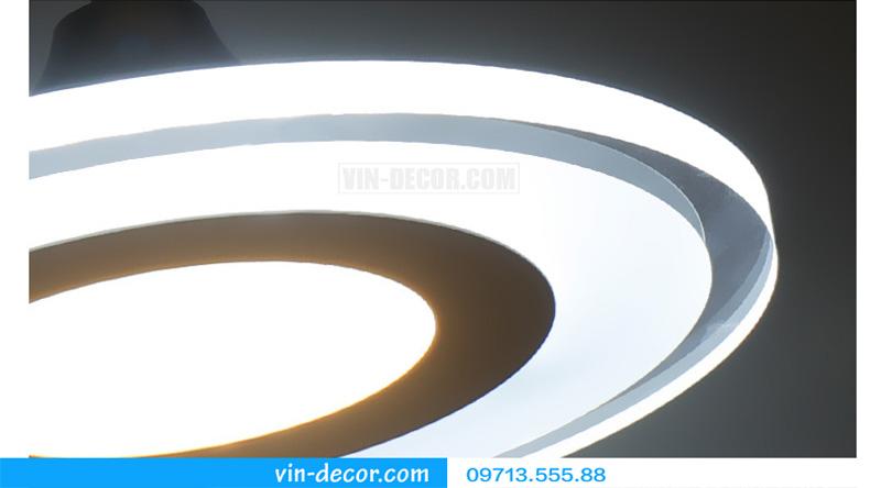 bộ 3 đèn thả bàn ăn led sáng tạo 04
