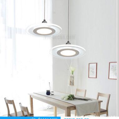 bộ 3 đèn thả bàn ăn led sáng tạo 05