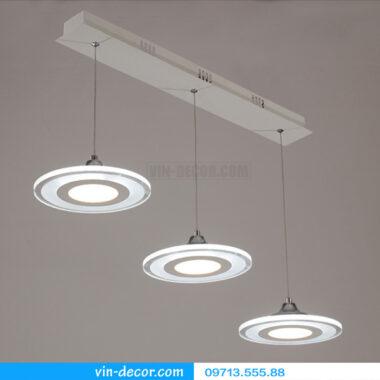 bộ 3 đèn thả bàn ăn led sáng tạo 06