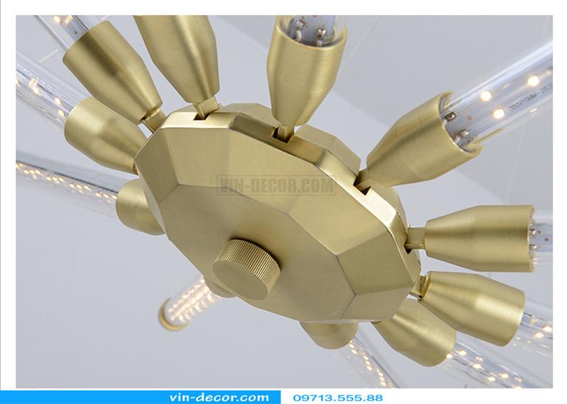 đèn chùm led ống md 8079 10