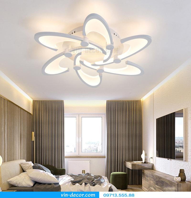 đèn led cánh hoa hiện đại độc đáo 04