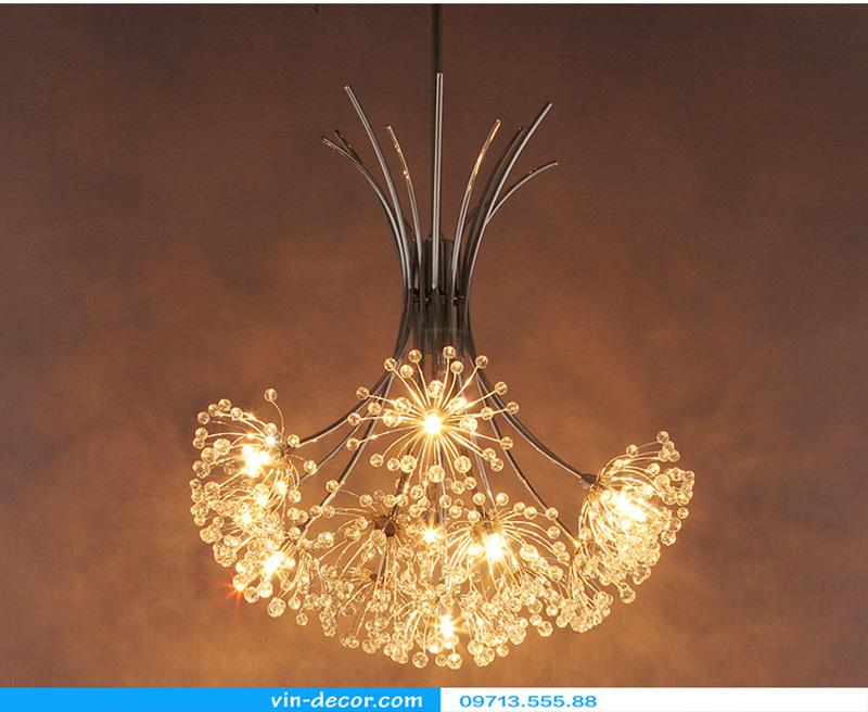 đèn trang trí hoa bồ công anh 04