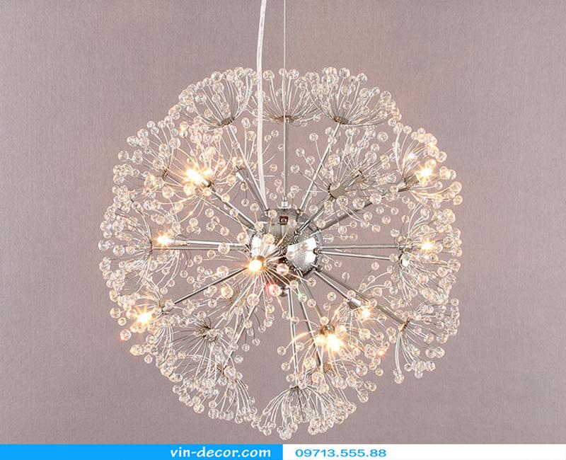 đèn trang trí hoa bồ công anh 16