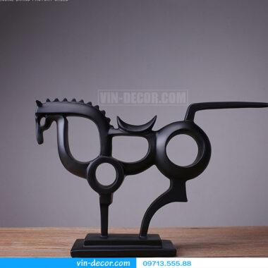 đồ trang trí ngựa trừu tượng 3549-01