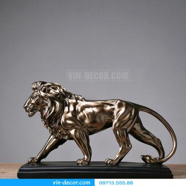 đồ trang trí sư tử độc đáo 6021 t