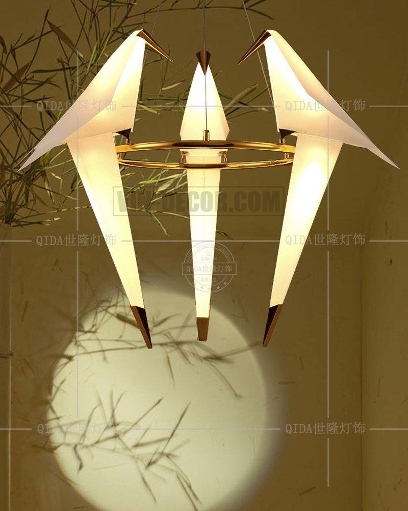 đèn chim chùm độc đáo 01