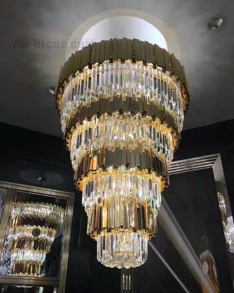 đèn chùm nghệ thuật phòng khách MD 005 02