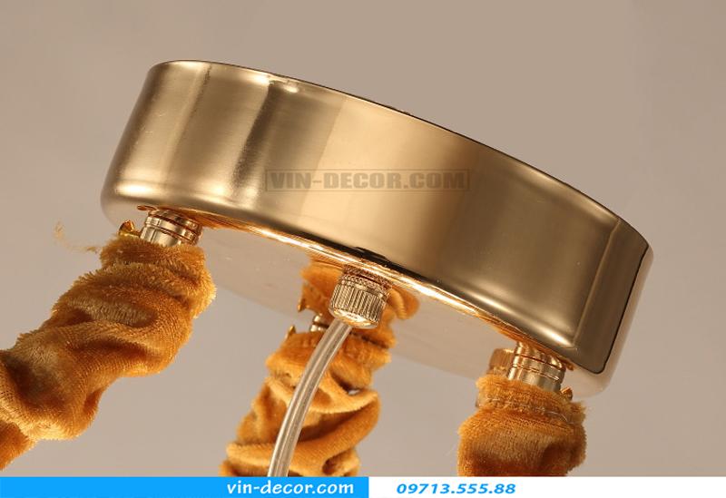 đèn chùm nghệ thuật phòng khách MD 005 06